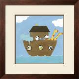 Noah's Ark I Poster by Erica J. Vess
