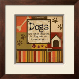 Dog's Whole Life Prints by Jennifer Pugh