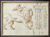 Regal Lion II Prints by Maria Teresa Faini