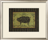 Le Cochon Prints by Sophie Devereux