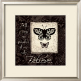 Believe Prints by Jo Moulton