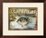 Gone Fishing Prints by Paul Brent