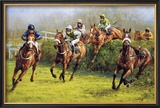 The Grand National (Monty&#39;s Pass) Limited Edition Framed Print by Graham Isom