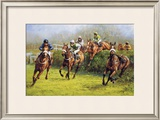 The Grand National (Monty's Pass) Limited Edition Framed Print by Graham Isom