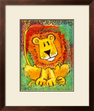 Lenny the Lion Prints by Julia Hulme