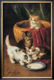 The Milk Dish Art by Alfred Brunel De Neuville