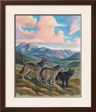 Wolves Print