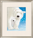 Fluffy Bears I Posters by Alison Edgson