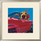 Dog About Town Prints by Ron Burns