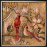 Elegance in Red I Prints by Elaine Vollherbst-Lane