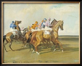 Under Starters Orders Limited Edition Framed Print by Sir Alfred Munnings