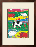 Colour Graze Prints by Lisa V. Keaney