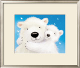 Fluffy Bears IV Art by Alison Edgson