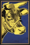 Cow, c.1971 (Blue and Yellow) Prints by Andy Warhol