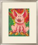 Jungle Pig Posters by Julia Hulme