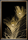 Plumes d'Or II Posters by Jason Johnson