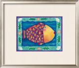 Humuhumumahalomahalo Framed Giclee Print by Deybra Faire