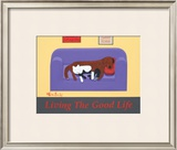 Living The Good Life Limited Edition Framed Print by Ken Bailey