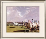 Steeplechasing Limited Edition Framed Print by Sir Alfred Munnings