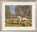 A November Morning Limited Edition Framed Print by Sir Alfred Munnings