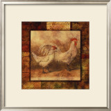 Hen and Rooster I Prints
