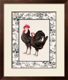 Farmyard Toile II Prints by Sarah Elizabeth Chilton