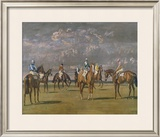 Before The Start Limited Edition Framed Print by Sir Alfred Munnings