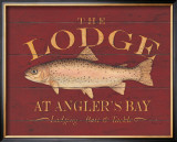 The Lodge Prints by Stephanie Marrott