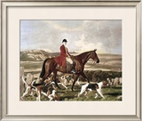 Sir Thomas Robins Bolitho On Barum Limited Edition Framed Print by Sir Alfred Munnings