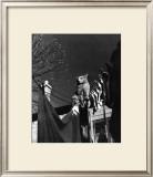 Dans la Cours, c.1954 Art by  Izis