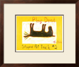 Play Dead 2 Limited Edition Framed Print by Ken Bailey