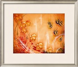 Tropical Fish Framed Giclee Print by Tip Freeman
