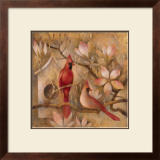 Elegance in Red I Prints by Elaine Vollherbst-Lane