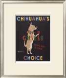 Chihuahua's Choice Chilis Limited Edition Framed Print by Ken Bailey