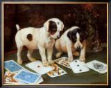 Poker Prints by George Derville Rowlandson