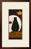 Cat and the Moon II Prints by Jo Parry