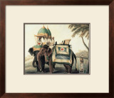 Indian Elephants I Posters