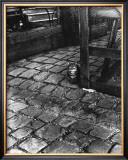 Dans la Cours, 255 Avenue Alesia, c.1947 Art by  Izis