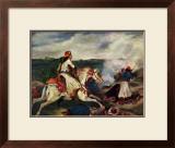 Sce`ne de la Guerre En Gre`ce Prints by Eugene Delacroix