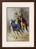 Leading Edge Framed Giclee Print by Dawn Emerson