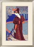 L'Estampe Modern Framed Giclee Print by Louis John Rhead
