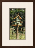 Birdhouse I Poster by Chuck Huddleston