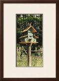 Birdhouse I Poster by Chuck Huddleston