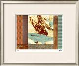 Painted Koi I Limited Edition Framed Print by M.J. Lew