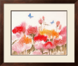 Floral Mist I Print by Richard Akerman