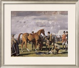 The Red Prince Mare Limited Edition Framed Print by Sir Alfred Munnings