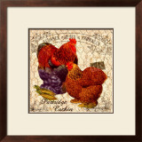 Country Partridge Cochin Framed Giclee Print