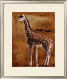Girafe Posters by Olga Ilic