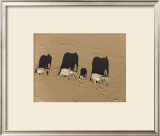 Elephants in Damaraland District, Namibia Prints by Michael Poliza