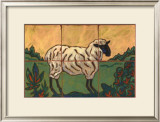 Sheep Poster by Susan Tuckerman